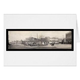 Spartanburg SC Streets Photo 1909 Card
