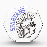 """Spartans Award<br><div class=""""desc"""">Create some fabulous game day wear to cheer the Spartans to victory.  This Spartan is just what you need to create the most spririted game day gear ever!</div>"""