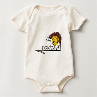Spartans Baby Bodysuit