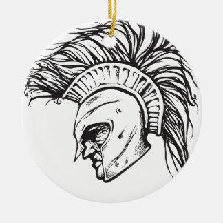 Spartans Ceramic Ornament