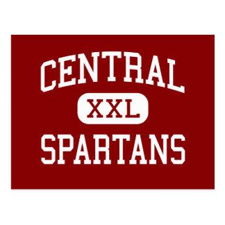 - Spartans - escuela secundaria central - Findlay Tarjeta Postal