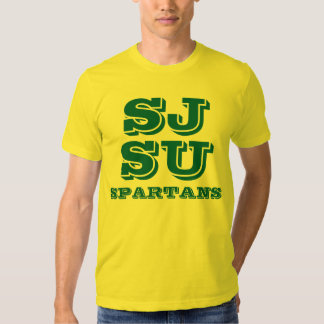 Spartans Gold Shirt