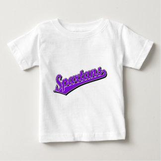 Spartans in Purple Tshirt