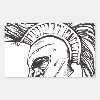 Spartans Rectangular Sticker