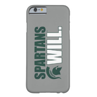 Spartans Will Barely There iPhone 6 Case