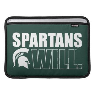 Spartans Will MacBook Air Sleeve