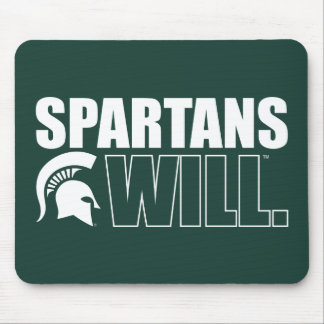 Spartans Will Mouse Pad