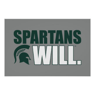 Spartans Will Poster