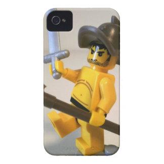 """""""Spartcacus"""" el personalizado Minifigure del iPhone 4 Cárcasa"""