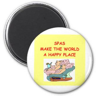 spas 2 inch round magnet