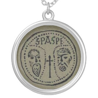 SPASPE Encolpium Silver Plated Necklace
