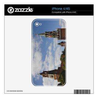 Spasskaya Tower in Red Square, Moscow, Russia iPhone 4S Skins