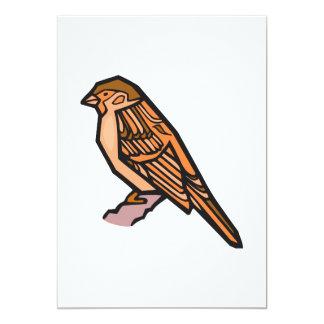 Spat Sparrow Card