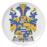 Spath Family Crest Dinner Plate