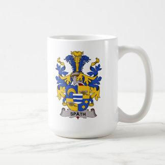 Spath Family Crest Classic White Coffee Mug