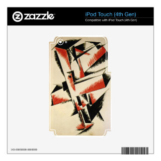 Spatial Force Construction by Lyubov Popova iPod Touch 4G Skin