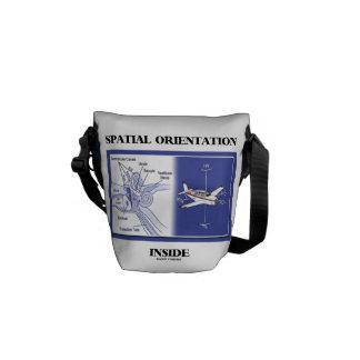 Spatial Orientation Inside  (Ear Anatomy Plane) Messenger Bag