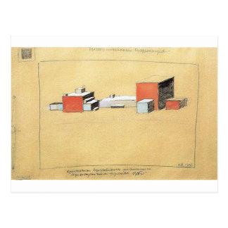 Spatial Suprematism by Kazimir Malevich Postcard