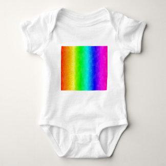 Spatter rainbow baby bodysuit