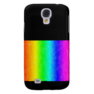 Spatter rainbow samsung galaxy s4 covers