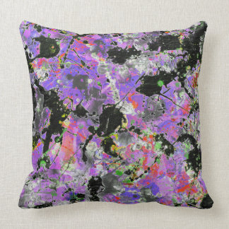 Spattered Batik Throw Pillow