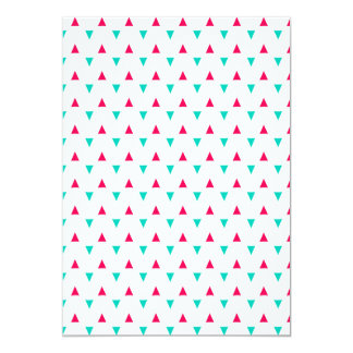 Spattered Triangles Red, White, Blue Card