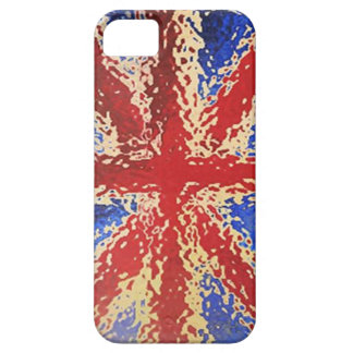 Spattered Union Jack Flag iPhone 5 Case