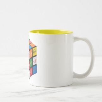 Spatula City Cube 2 Tone Mug