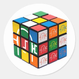 Spatula City Cube Sticker