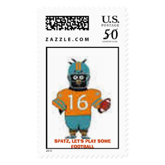 SPATZ, LET'S PLAY SOME FOOTBALL POSTAGE