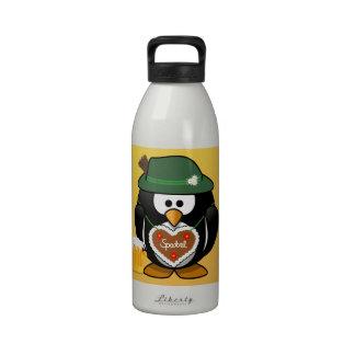 Spatzl and Beer Penguin Drinking Bottle