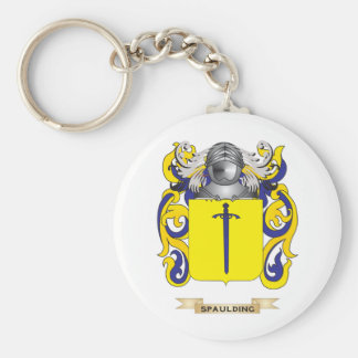 Spaulding Coat of Arms (Family Crest) Keychain