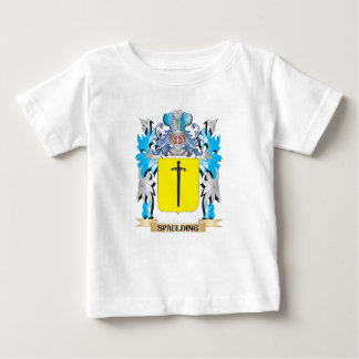 Spaulding Coat of Arms - Family Crest Tee Shirt