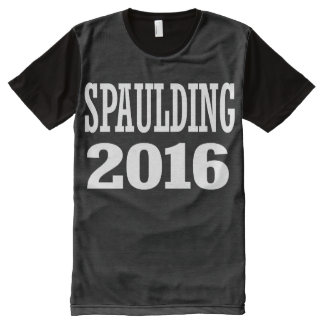 Spaulding - Ken Spaulding 2016 All-Over-Print T-Shirt