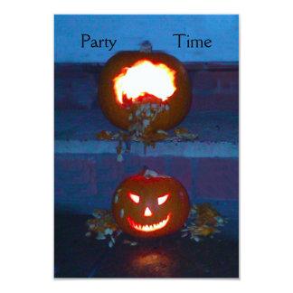 Spawning Pumpkins Invitation