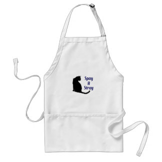 SPAY A STRAY ADULT APRON