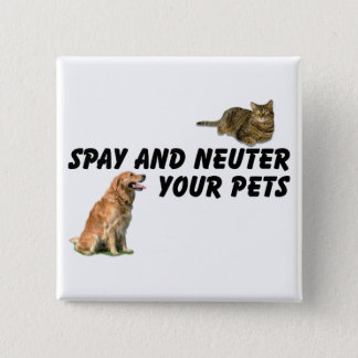 Spay and Neuter Button