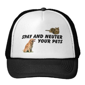 Spay and Neuter Mesh Hat
