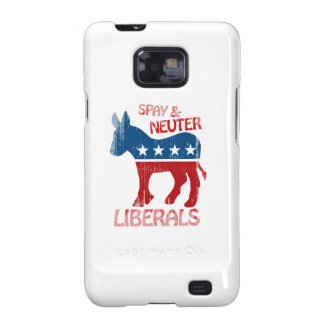 SPAY AND NEUTER LIBERALS Faded.png Samsung Galaxy SII Cover