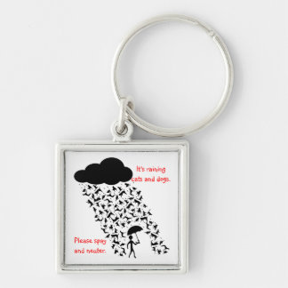 """Spay and Neuter"" Premium Keychain"
