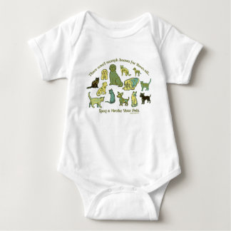 Spay and Neuter your Pets Baby Bodysuit