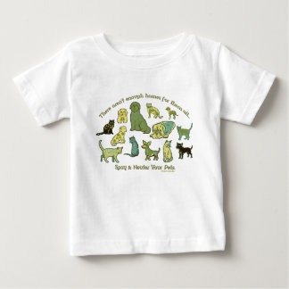 Spay and Neuter your Pets Baby T-Shirt