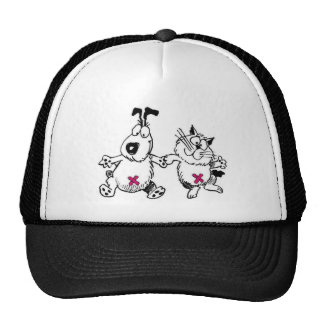 spay and neuter your pets trucker hat