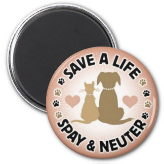 spay and neuter your pets magnet