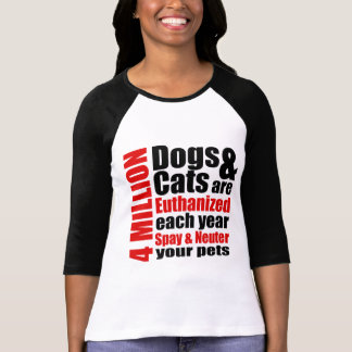 Spay and Neuter Your Pets T Shirt