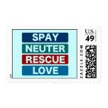 Spay el amor neutral del rescate (2) franqueo