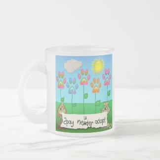 spay el neiter adoptan la taza