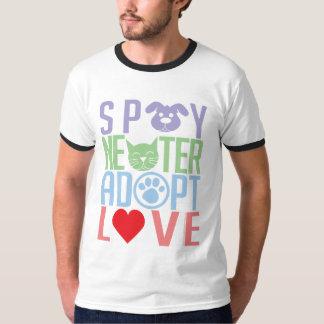 Spay el neutro adoptan el amor 2 camisas