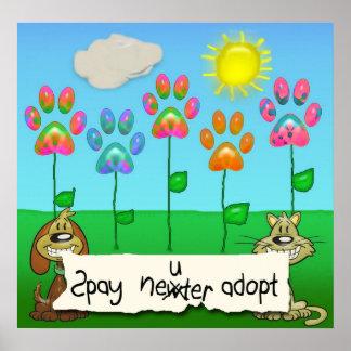 spay el neutro adoptan poster