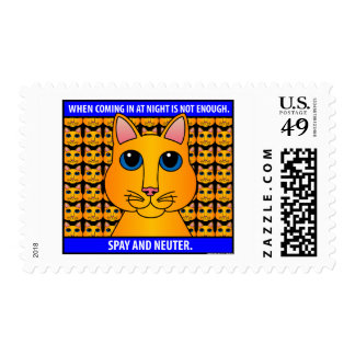 Spay Neuter1C Postage Stamps